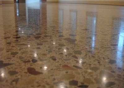 Custom concrete polishing