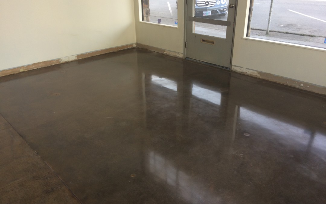 Floor Project – Sassy Onion Catering Office