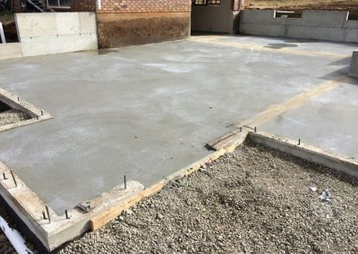 concrete pouring and restoration services